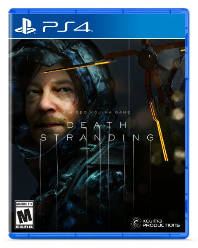 Death Stranding: Hideo Kojima Reveals Cover Art & More at SDCC